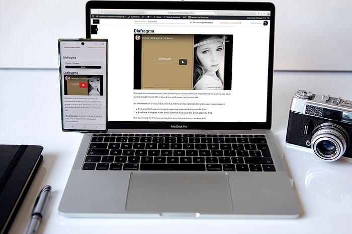 Basis fotografie cursus online