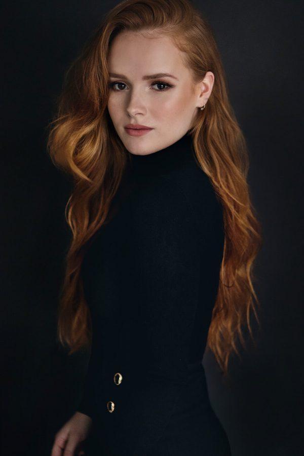 Portret zangeres studio Zeeland